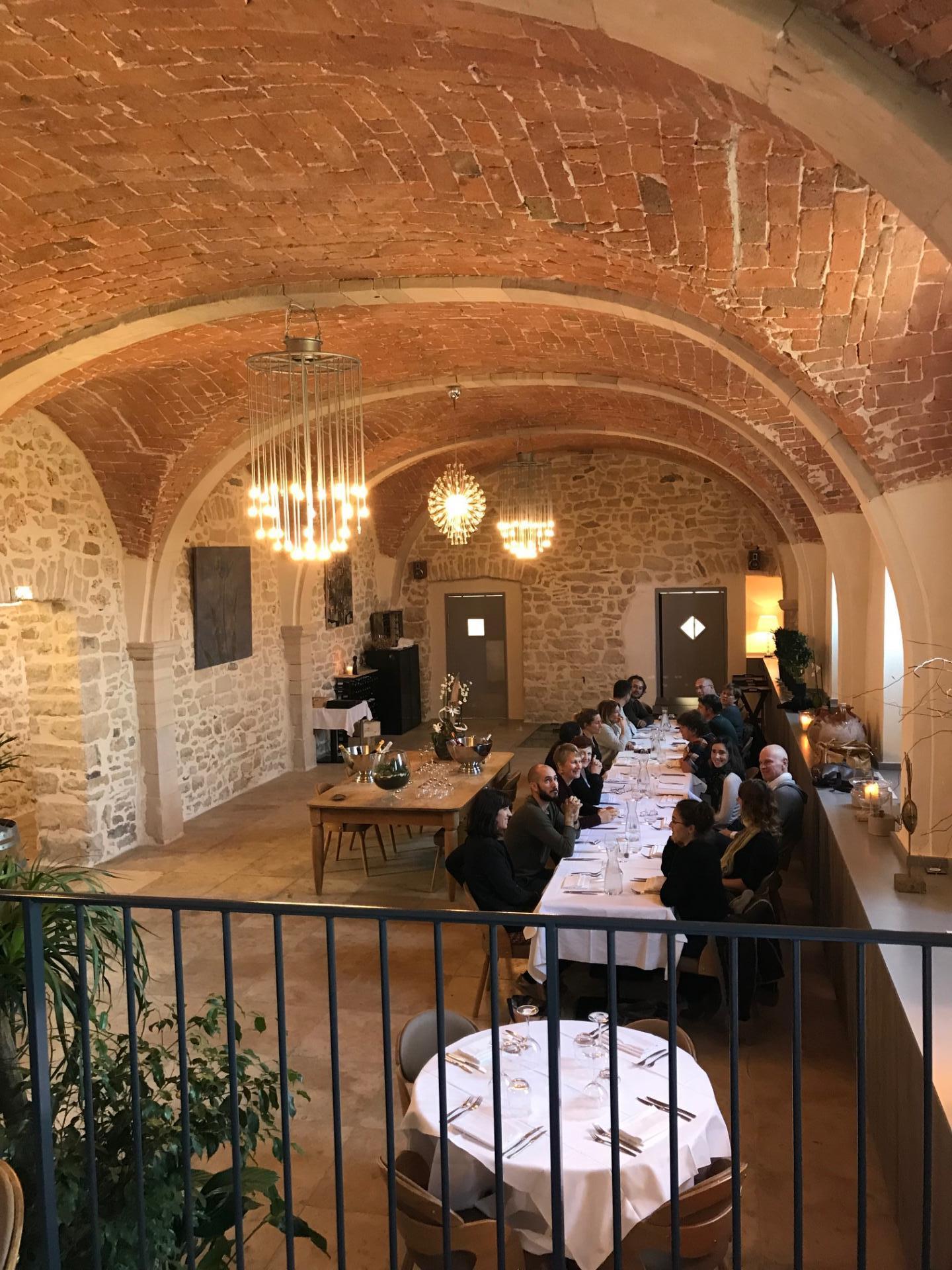 salle de restaurant couvent Vagnas